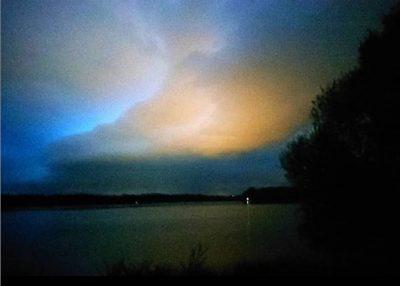 ciel d'orage en bretagne